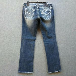 Vigoss the chelsea straight Jeans Thick Stitch